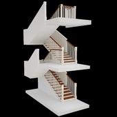 Лестница в колониальном стиле