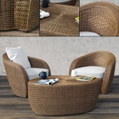 VARASCHIN Bolero Lounge Chair