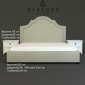 dantone bed and nightstand