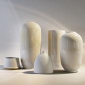 Вазы керамические в глазури