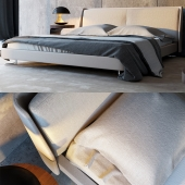 Minotti Spencer Bed