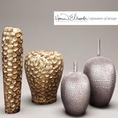 collection of vases Howard Elliott