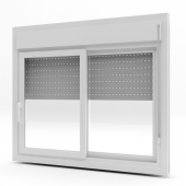 PVC Windows with shutter