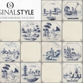 Originalstyle -  English Delft Wall Tiles