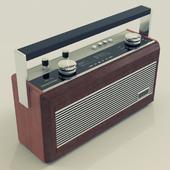 Roberts R900 Teak and Leather Radio