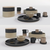 japanese porcelain kitchen set