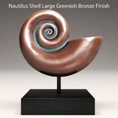 Nautilus Shell Bronze