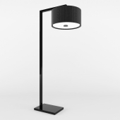 Dome Deco Floor Lamp With Black Shade