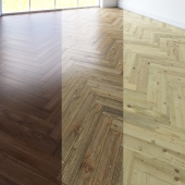 Herringbone parquet. 3 types