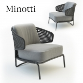 chair aston cord outdoor minotti