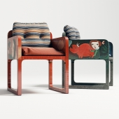 Chair upholstery Luisa Peixoto and Evelina Oliveira