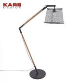 Floor lamp Kare Design Net Flex