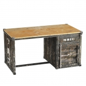 Metal, Container Desk