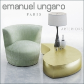 Armchair and coffe table Emanuel Ungaro