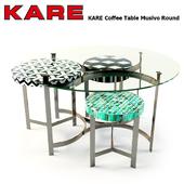 KARE Coffee Table Musivo Round