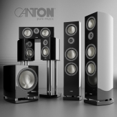 Hi-Fi speaker set Canton Vento