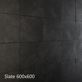Черный и серый сланец