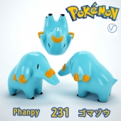 Phanpy №231 / Фанпи  №231