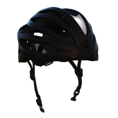 Bycicle helmet with the headlights.