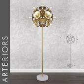 Arteriors keegan floor lamp
