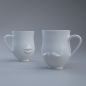 MR & MRS MUSE REVERSIBLE MUG
