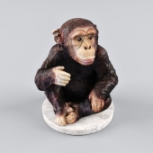 Decorative figurine chimpanzee