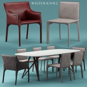 Table and chairs walterknoll Saddle Chair