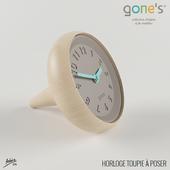 Horloge Toupie à poser