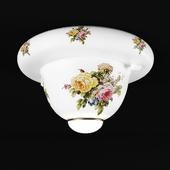 Chandelier La Lampada PL 133 / 1.07 Ceramica Maiolica
