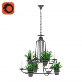 Suspension Innerspace Garden Lamp