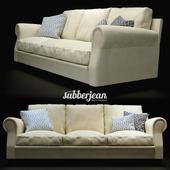 Poltrona Frau Austen Sofa 3 seat