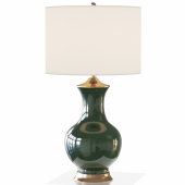 LILOU TABLE LAMP GREEN