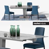 NEPHTIS DINING TABLE / AIDA CHAIR