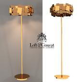 Floor lamp GOLD PLATE FLOOR LAMP