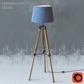 European loft design lamp