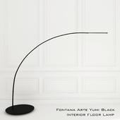 Fontana Arte Yumi Black Interior Floor Lamp