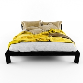 modern yellow bed