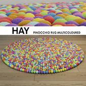 Hay Pinocchio Rug Multicoloured