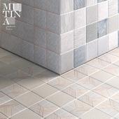 Tratti by Mutina - set 01 - n.3 tile pattern multitexture