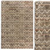 Carpet DorisLeslieBlau High - low pile rug