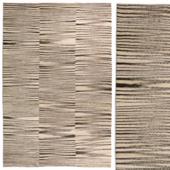 Carpet DorisLeslieBlau Flat weave kilim rug