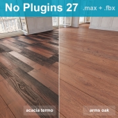 Parquet 27 (2 species, without the use of plug-ins)