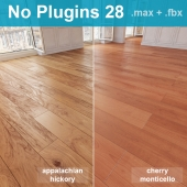 Parquet 28 (2 species, without the use of plug-ins)