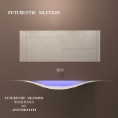 SILENCE - Integrated wash basin - by ANTONIO LUPI