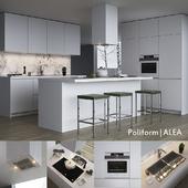 Kitchen Poliform Varenna Alea (vray, corona)