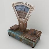 Old scales Tyumen