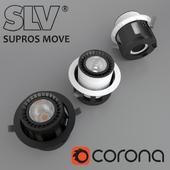Потолочный встраиваемый светильник SLV SUPROS MOVE (114121)