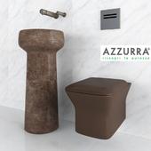 Azzurra wash basin and wc