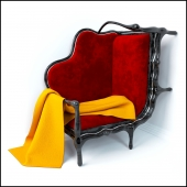 Sofa irregular shape