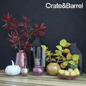 Осенний декоративный набор Crate&Barrel